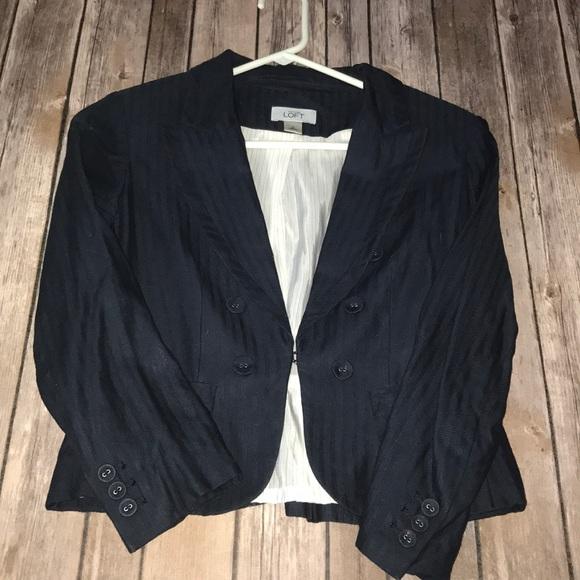 LOFT Jackets & Blazers - LOFT cropped blazer